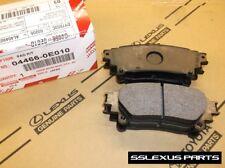 Lexus RX350 RX450H (NAP) (2010-2015) OEM REAR BRAKE PADS / PAD SET 04466-0E010