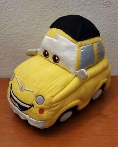 "12"" Disney store exclusive stamped plush Luigi Cars Toy"