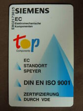 Nederlands Duitse Chip kaart gebruikt  -  Siemens