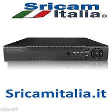 SriItalia DVR SRI-1008Z DVR RECORDER 8 CH HARD DISK FINO A 3 TB MENU ITALIANO