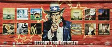 Country Music 2002 Support Your Country Universal Music Vinyl Promo Poster