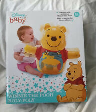New Disney Baby Winnie the Pooh Roly-Poly Baby Wobble Toy