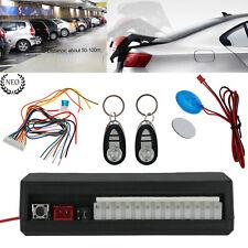 Sistema de Alarma ZV Con Cierre Centralizado Para Coche Con 2 Controles Remotos