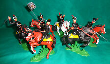 mounted HUSSARS OF THE DEATH Napoleonic War set DSG Soldiers ARGENTINA Britains