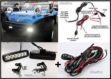 LED Fog Light Bar w/h Relay Harness - off road Kit for VW Dune Buggy Baja ATV