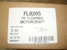 NEW Motorcraft FL820S Oil Filters Case of 12 Bulk Pack FL820SB12 FL820S OEM