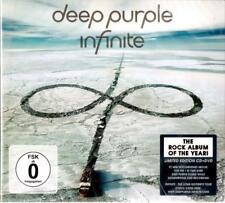 Deep Purple - Infinite ( 2 DISC SET CD + DVD NTSC Set ) Limited Edition Sealed