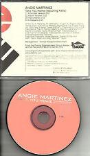 ANGIE MARTINEZ & KELIS Take you Home INSTRUMENTAL & ACAPPELLA PROMO DJ CD Single