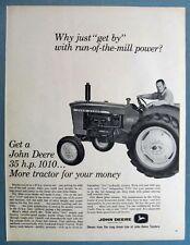 Orig 1964 John Deere Tractor Ad GET A 35 HP DEERE MORE TRACTOR FOR YOUR MONEY