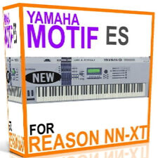 YAMAHA MOTIF ES For REASON SXT REFILLS Samples/Presets/Sounds 5 DVDS 15GB