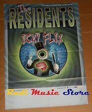 POSTER rock PROMO THE RESIDENTS ICKY FLIX 84 X 59,5 cm cd dvd vhs lp live mc