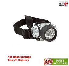 7 LED ULTRA BRIGHT HEAD TORCH LIGHT LAMP CAMPING HIKING CYCLING FISHING CAR