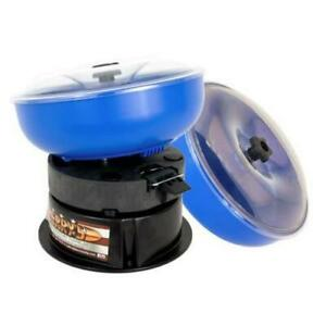BERRY'S  QD-500 VIBRATORY TUMBLER WITH EXTRA BOWL AND MEDIA 00540