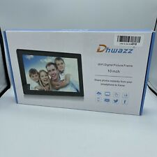Dhwazz Digital 10 Inch WiFi Picture Frame IPS Panel, Touch Screen, Motion Sensor