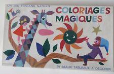 Coloriages Magiques,années 70, Fernand Nathan  - Cavahel Vintage