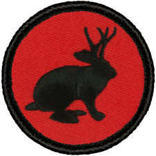 Cool Boy Scout Patrol Patch! - 158R-JKC The Retro Jackalope Patrol!