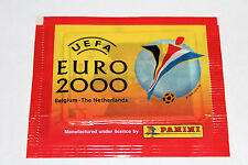 Panini EM EC Euro 2000 00 – 1 x Tüte packet bustina sobre Version NORMAL