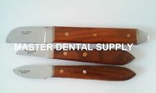 3 Dental Lab Plaster Stone Knives Kit 6R, 7R and 12R High Quality FREE SHIPPING