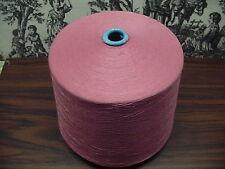 Rayon Spun Yarn 20/2 8400 YPP  1 Cone 6.0 lbs. Color Blush Pink