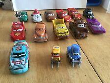 Disney pixar cars 14 diecast lot McQueen Mater Ramone