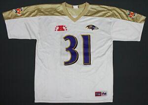 Jamal Lewis Baltimore Ravens Super Bowl XXXV Majestic NFL Jersey XL