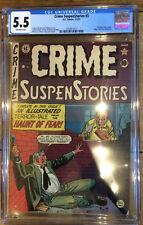 Crime SuspenStories 3 CGC 5.5 2132971013