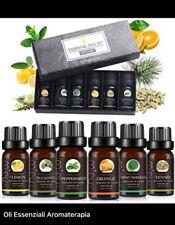 Set olio essenziale per diffusori 100% biologico Puri naturali