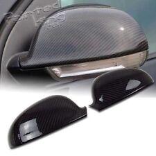 For VOLKSWAGEN VW GOLF 5 MK5 Jetta GTI Carbon Fiber Door Side Mirror Cover