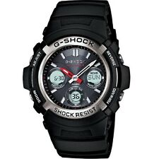 Casio G-Shock AWG-M100-1A Atomic Time Solar Powered Analog Digital Men's Watch
