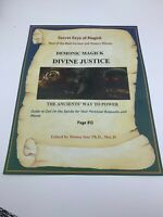 Book of Shadows DIVINE JUSTICE Spell Best Spells Magick