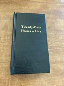 Twenty Four Hours a Day - Daily AA Meditation - Hazelden Pocket Hardcover 1975