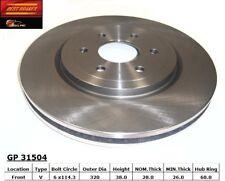 Disc Brake Rotor fits 2008-2012 Nissan Pathfinder  BEST BRAKES USA