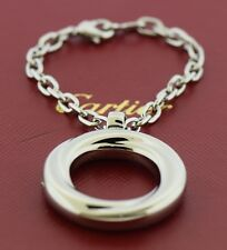 Cartier Stainless Steel Circle Key Ring