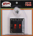 Atlas HO Model Train Twin Controller #210 - See description & Photos