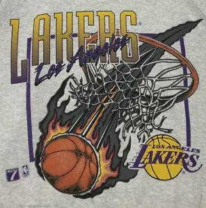 Vintage 90s Los Angeles Lakers T Shirt Funny Black Vintage Gift For Men Women