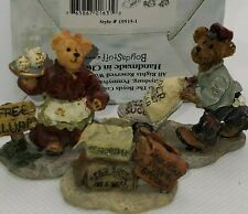 Boyds Bearly Built Villages Sweet Treats Caitlin's Dominick's Delivery 19515-1