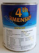 Sherwin Williams Dimension Chrysler PRP Deep Cherry auto body restoration paint