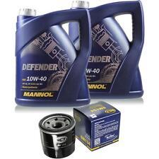 Ölwechsel Set 10L MANNOL Defender 10W-40 Motoröl + SCT Filter KIT 10202962