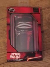 Disney Store Star Wars KYLO REN, IPhone 6/6s Clip Case BNIB + Screen Protector