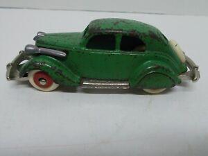 "Vtg Hubley ""Take-Apart"" 1934-36 Studebaker 41"" Long, Rubber Tires w/ Wood Whls"
