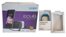 Smartphone Alcatel Idol 4S dark grey - Exclusiv-Set mit VR Brille + Aktivitätstr