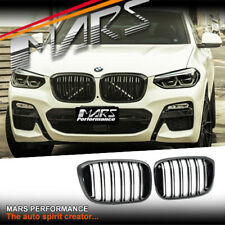 Gloss Black X3M X4M Style Front Bumper Bar Kidney Grille for BMW X3 G01 & X4 G02