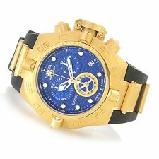 @New Invicta 50mm Subaqua Noma IV Swiss Made Quartz Chronograph Gold IP 16145 4