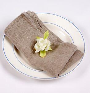 Linen napkins Soft washed 100% linen Party Wedding decor