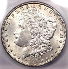 1891-CC Morgan Silver Dollar $1 - Certified ICG MS61 (BU UNC) - $620 Value!