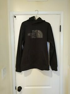 The North Face Mens Blk Pullover Hooded Fleece Sweatshirt size M Hoodie