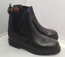Regent Moulton Ladies rear Zip Black Leather Jodhpur Boots Size 3