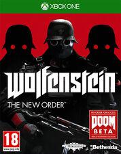 Wolfenstein The NUEVO Order ~ Xbox One (EN BUEN ESTADO)