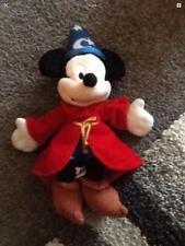 Disney Mickey Mouse Mago/Sorcerer's Apprentice Peluche