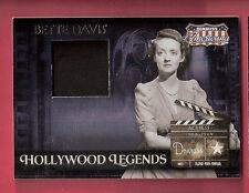 BETTE DAVIS WORN SWATCH MATERIALS RELIC CARD #d220/250 2007 AMERICANA HOLLYWOOD